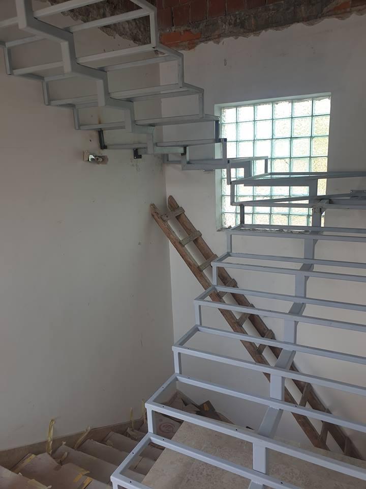 Konstrukcija unutarnjeg stepeništa